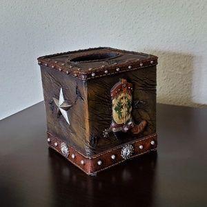 Western style Tissue Box